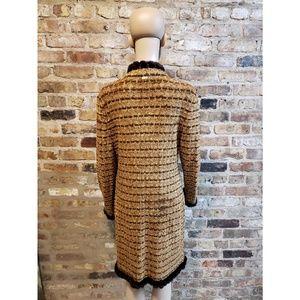 St. John Sport by Marie Gray Sweaters - St. John Sport fur trimmed duster